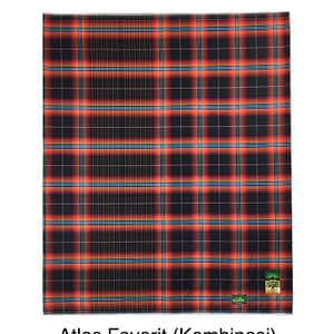 Checkered Motif of Woven Lungies by Atlas