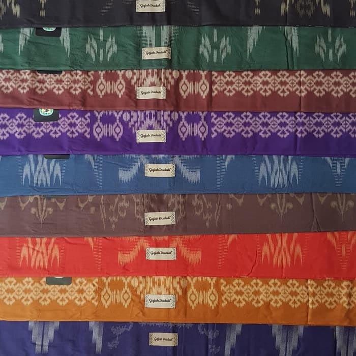 Flowers Design of Indonesian sarong Fabric