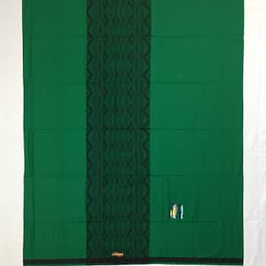 indian Plain Color lungi With Flower Designs in Middle of lungi