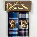 Cheap 100% Cotton sarong With Checkered Design