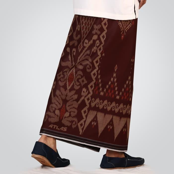 flower motif of indonesian woven men sarong