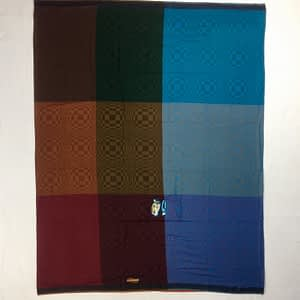 Indonesian Woven Sarong With Colorful and Unique Design