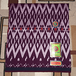 Handloom rayon lungis With Large Patterns