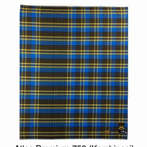 Checkered Motif of 100% Cotton woven india lungies by Atlas