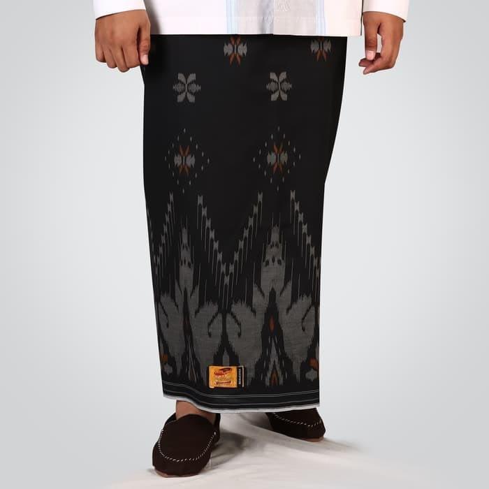flower motif of original indonesian sarong