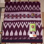 Handloom rayon lungi With Large Patterns